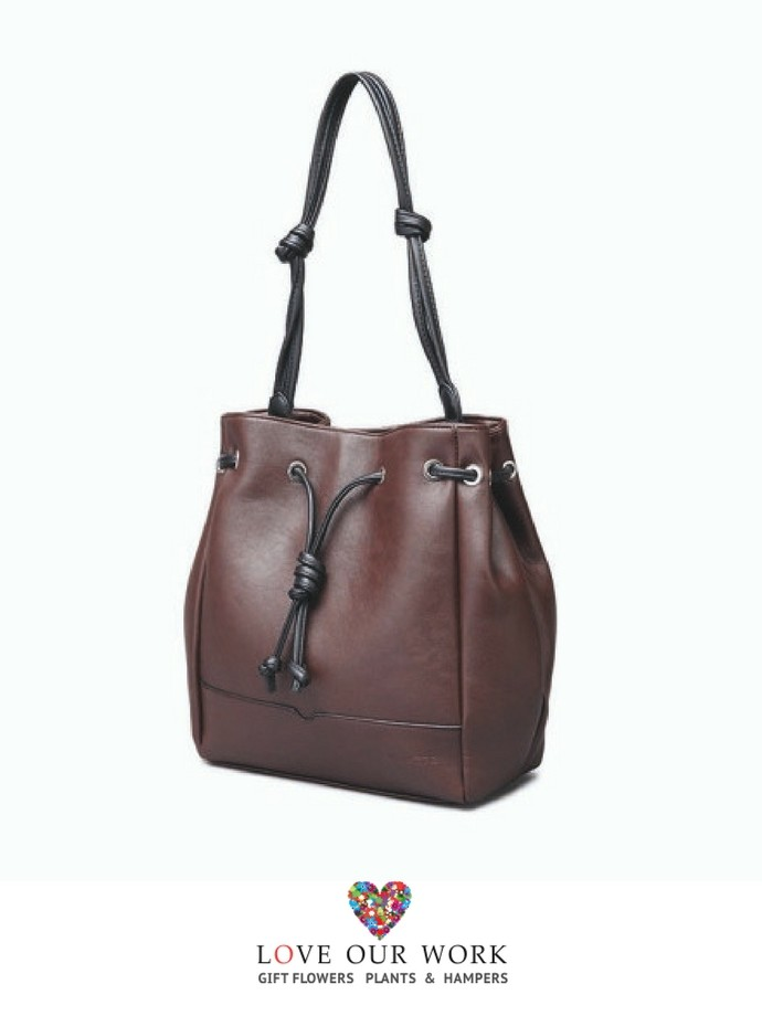 Tasha Brown Vegan Leather Convertible Backpack and Bag