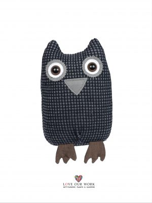 The Third in our range of novel decor door stoppers. Oscar the Owl door stopper