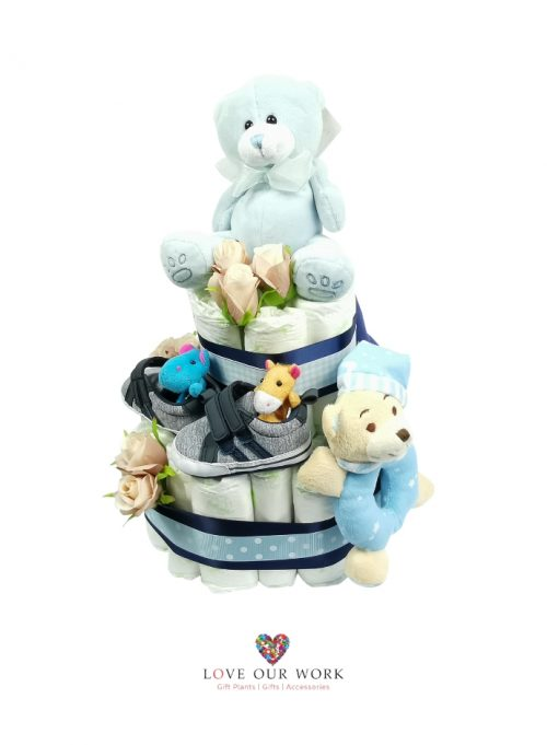 It's a Boy This hamper contains quality gifts to welcome in baby