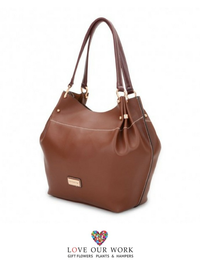 ac05d92915 ... Brown Vegan Leather Tote Bag Return to Previous Page. Allaire is an  ideal company for all occasions and style.