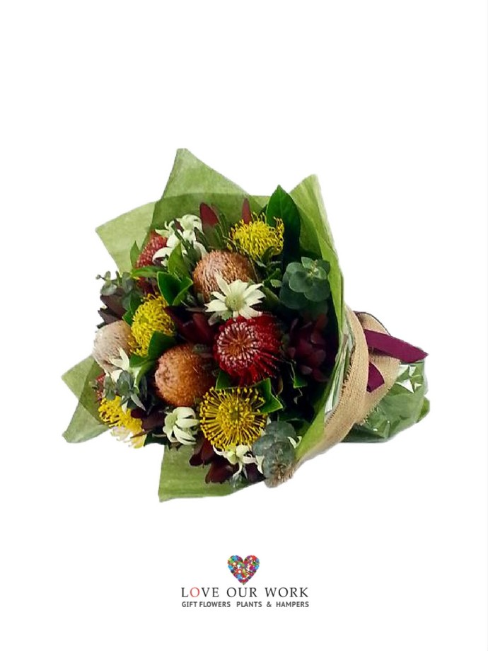 Native Flower Bouquet. FREE Delivery Chatswood | Love Our Work