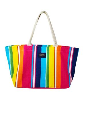 large canvas bag great for the beach, shopping or all the kid's stuff.