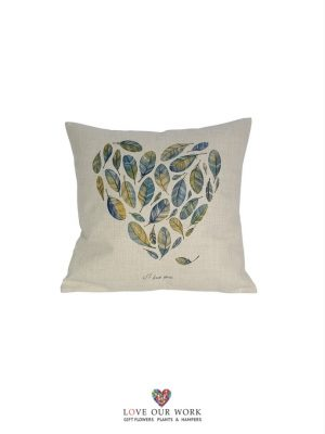 Natural Feather Hart cushions are luxuriously soft to the touch.