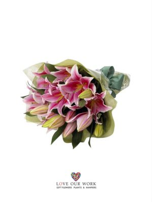 Send flowers with Sydney's freshest online florist. Bouquet, pink fragrant Oriental