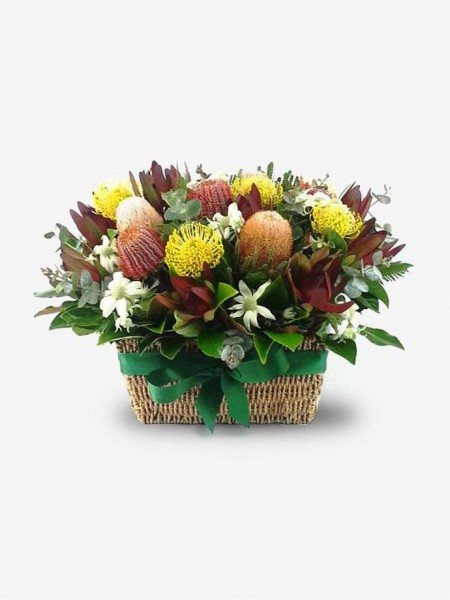 Native Basket Arrangement